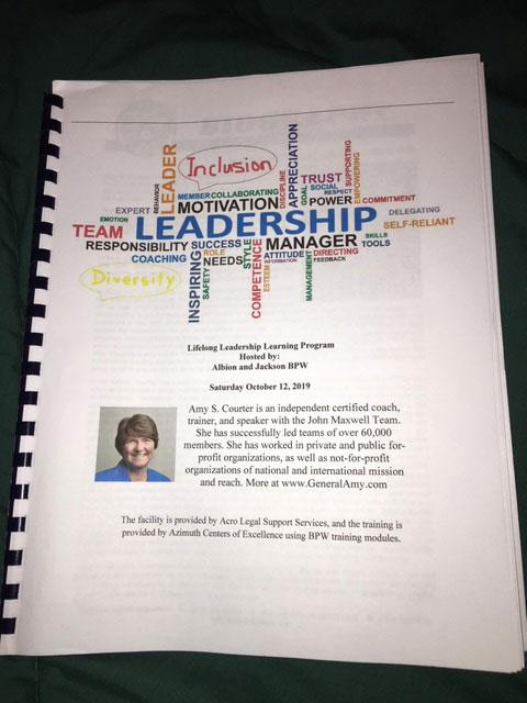 Eaton Rapids Scholarship Presentation